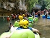 Belize Crystal Cave Exploration and River Tubing Excursion River Runs through Antiquity...