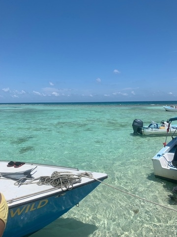 Belize Goff's Caye Island Getaway and Snorkel Cruise Excursion Little piece of paradise