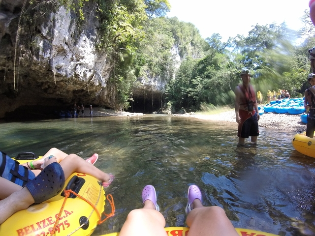 Belize Nohoch Che'en Caves Branch Cave Tubing Excursion DON'T LET THIS ONE PASS BY!!