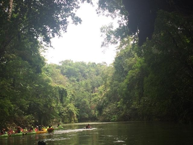 Belize Nohoch Che'en Caves Branch Cave Tubing Excursion Loved it