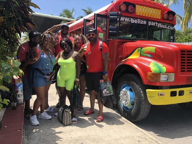 Belize Party Bus and Sightseeing Excursion Amazing