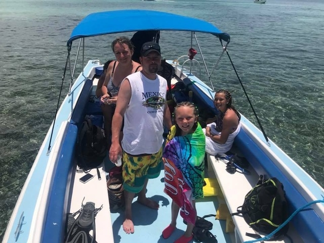 Belize Private Group for Hol Chan, Shark Ray Alley Snorkel & Caye Caulker Beach Break Excursion Most amazing day!!
