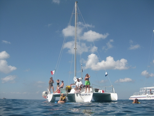 Best Cozumel Catamaran Sail and Snorkel Excursion Clearly the best of the best