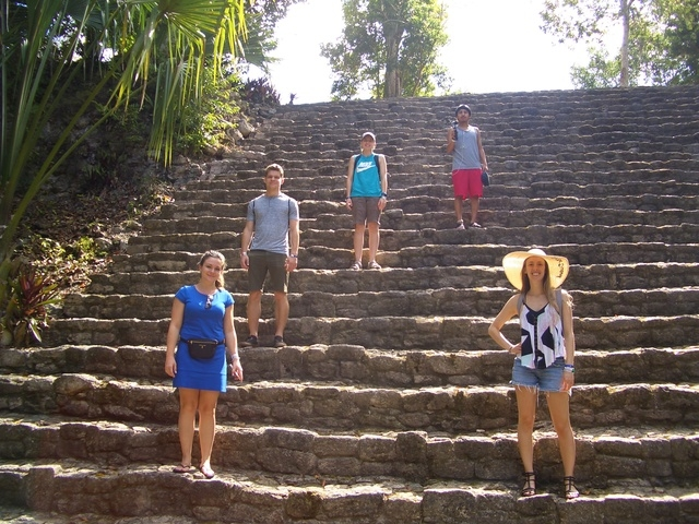 Costa Maya Chacchoben Mayan Ruins Excursion Great Excursion for whole family