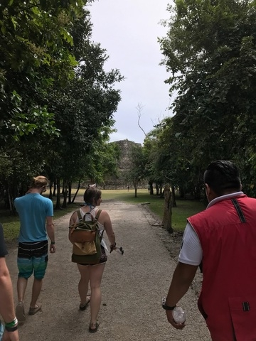 Costa Maya Chacchoben Mayan Ruins Excursion great tour with great company