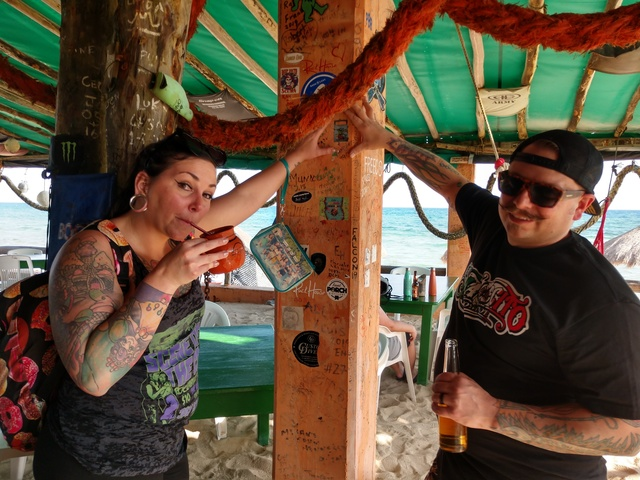 Cozumel East Side Beaches, Bars and Cantina Hop Excursion Good local bars and food