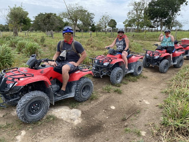 Cozumel Jungle ATV, Jade Cavern and Cenote Swim Excursion First time in Cozumel
