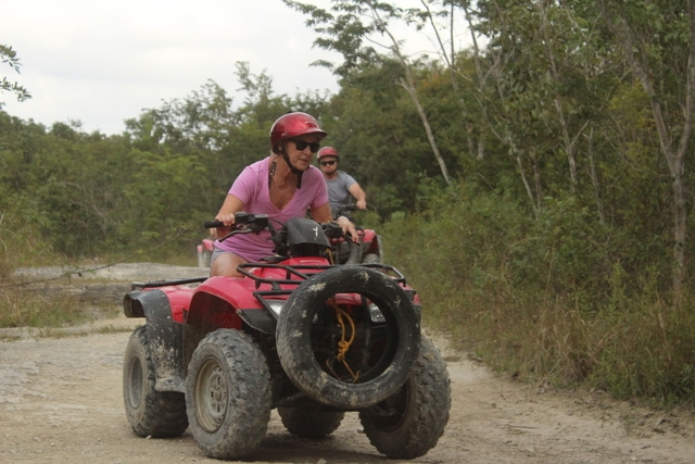 Cozumel Mayan Jungle ATV Adventure and Resort Beach Break Excursion Loved it