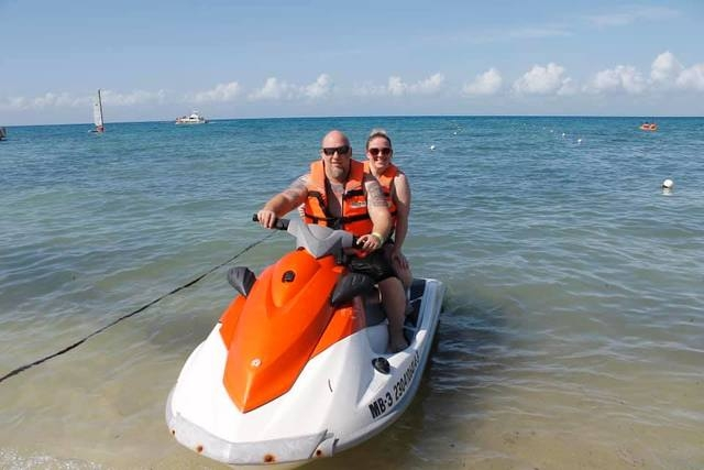 Cozumel Playa Mia Grand Beach Break Day Pass Excursion Entire family loved it!