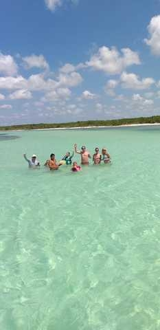 Cozumel Private Secluded Marine Park Reef Snorkel and El Cielo Sandbar Powerboat Excursion Best day ever!