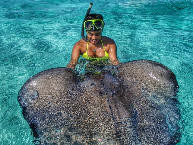 Grand Cayman Jet Ski Stingray City and Starfish Beach Excursion Beyond imagination, BEST TOUR EVER!!!
