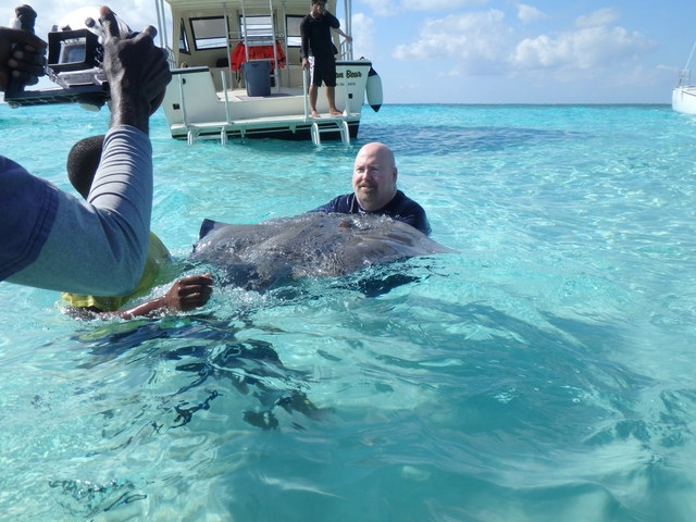 Grand Cayman Stingray City Sandbar, Coral Gardens and Barrier Reef Snorkel Excursion Great time