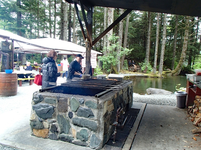 Juneau Historic Gold Panning and Salmon Bake Combo Excursion Salmon was AWESOME!