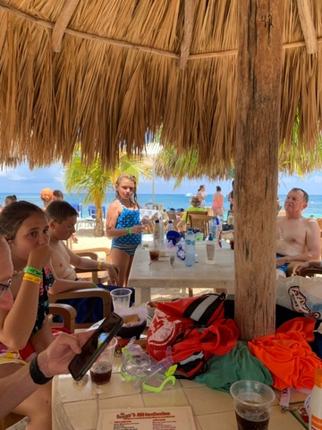 Mr. Sanchos Beach All Inclusive Day Pass Cozumel Great food and location!