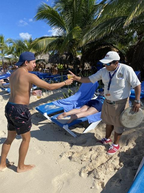 Mr. Sanchos Beach All Inclusive Day Pass Cozumel 4th visit....  always great!