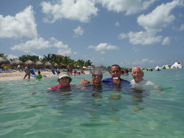 Mr. Sanchos Beach All Inclusive Day Pass Cozumel Great day at the beach