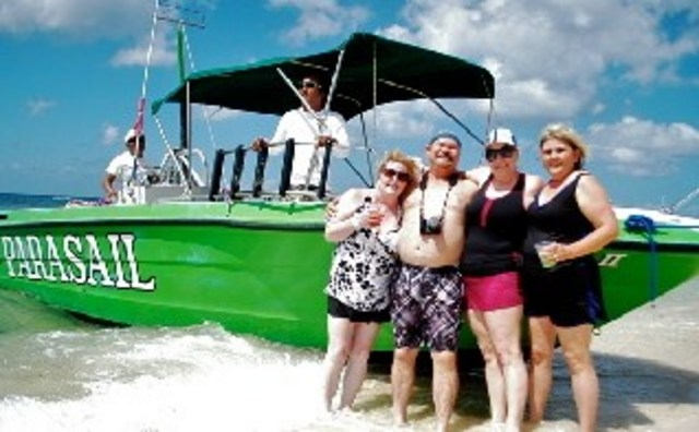 Mr. Sanchos Beach All Inclusive Day Pass Cozumel The Wyant and Roberts Clan from Homer La