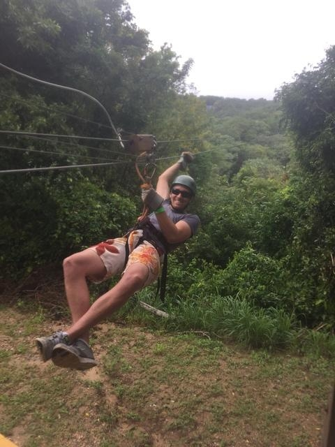 Roatan Canopy Zip Line and Beach Break Adventure Combo Excursion Great Experience w/amazing tour guides