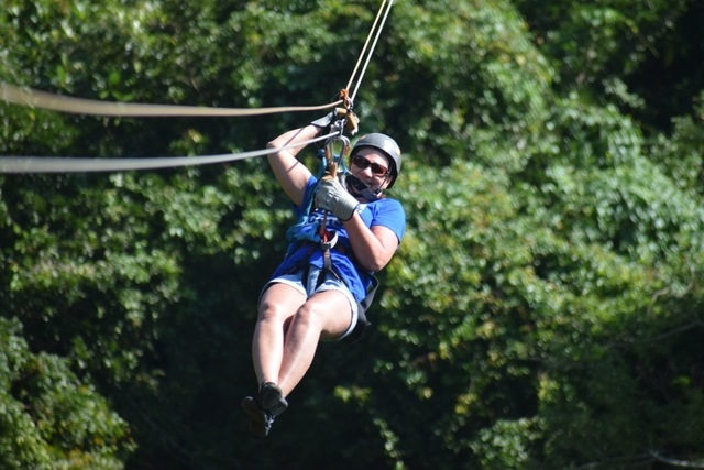 Roatan Canopy Zip Line and Beach Break Adventure Combo Excursion Loved it