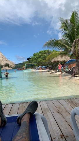 Roatan Little French Key Full Island Day Pass Excursion Beautiful scenery, very relaxing!
