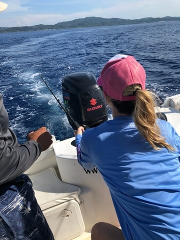Roatan Private Deep Sea Fishing Charter Excursion Great, Fabulous, Amazing Unforgettable Experience