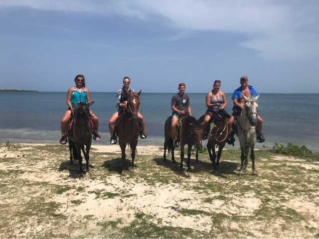 Roatan Zipline, Horseback Ride and Snorkel Combo Excursion awesome!!