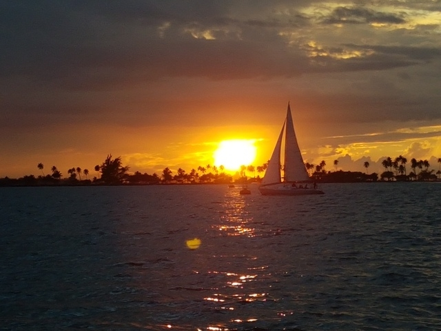 San Juan Sunset and Sightseeing Big Boat Excursion 1st time cruiser
