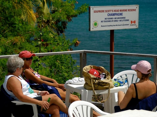 Dominica Roseau Champage Reef Shore Excursion Reservations