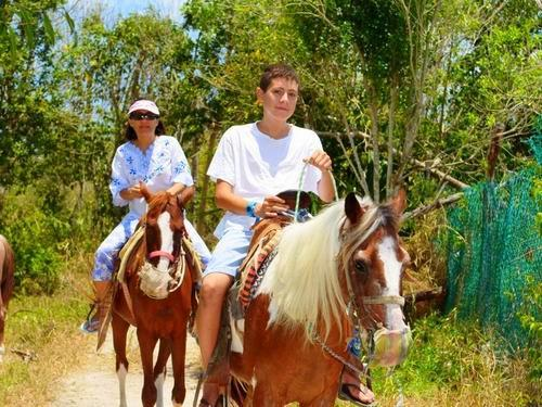 Cozumel horse ride Shore Excursion Reservations