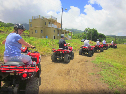 St. Kitts ATV Trip Reservations