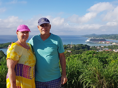 Roatan  Honduras viewpoint Cruise Excursion Reservations