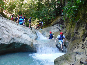Amber Cove 7 Damajagua Waterfalls, Ziplines and Lunch Excursion