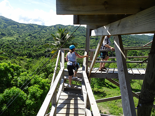 Amber Cove zip line Combo Trip Cost