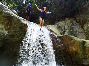 Amber Cove Puerto Plata Damajagua Waterfall Jump and Slide Funtime Excursion