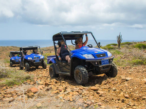 Aruba North Coast and Arikok Park UTV Morning Adventure Excursion