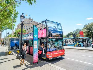 Barcelona City Sightseeing Hop On Hop Off Bus 1 Day Excursion
