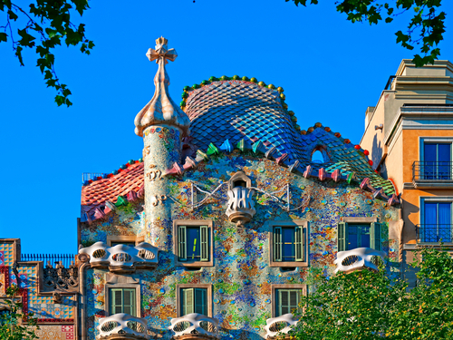 Barcelona  Spain casa batlo Cruise Excursion Reservations