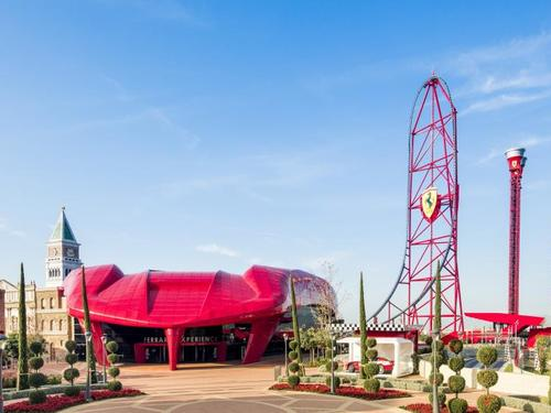 Barcelona Ferrari Land Trip Tickets
