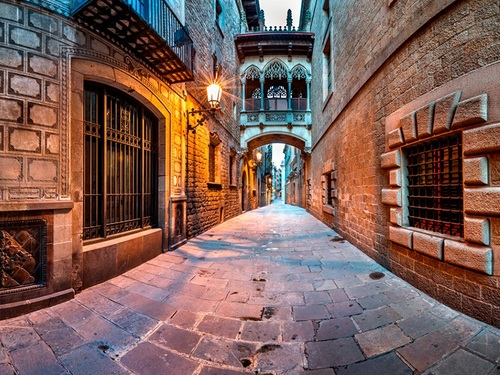 Barcelona  Spain old city guided Trip Cost