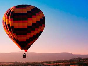 Barcelona Hot Air Balloon Flight and Montserrat Monastery Excursion