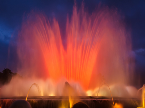 Barcelona  Spain magic fountain guided Trip Cost