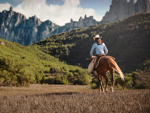 Barcelona Montserrat Monastery and Horseback Riding Excursion