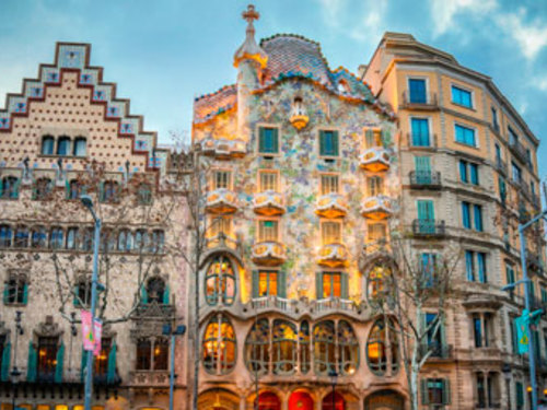 Barcelona Spain guell Shore Excursion Reservations