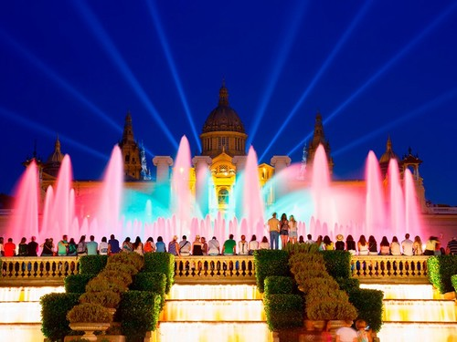 Barcelona  Spain montjuic hill guided Shore Excursion Tickets