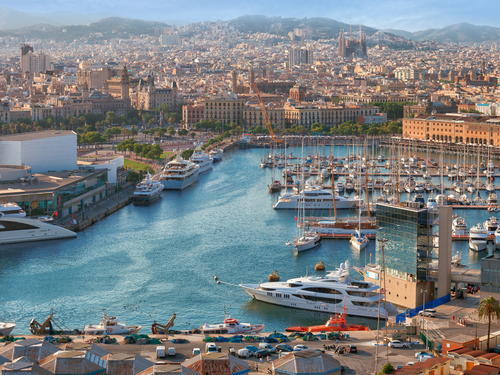 Barcelona  Spain mediterranean sea Tour Reservations