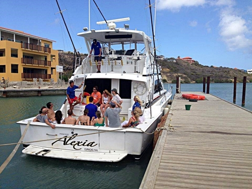 Curacao Willemstad private boat charter Trip Cost