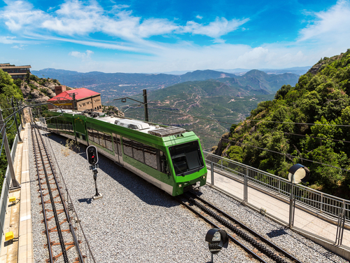 Barcelona Spain Cog wheel Train Trip Prices