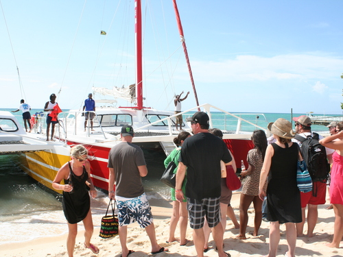 Montego Bay sail and snorkel Tour