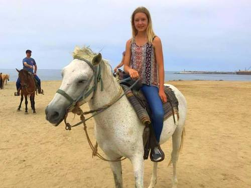 Ensenada Mexico beach horseback ride Tour Reservations