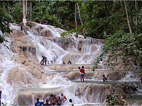 Montego Bay Jamaica dunns river falls  Excursion Reservations